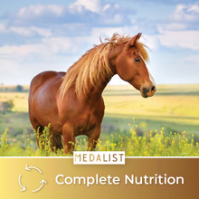 Load image into Gallery viewer, Complete Nutrition: Our quality horse feed brings all of the nutritious values your horse needs. It helps your horse stay as healthy as a horse.