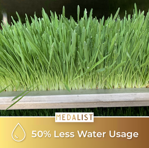 Medalist: 50% Less Water Usage