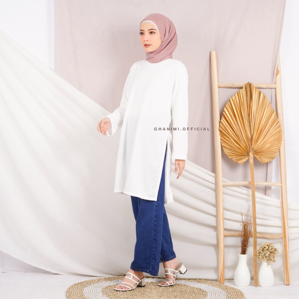 Arora Tunik Broken White