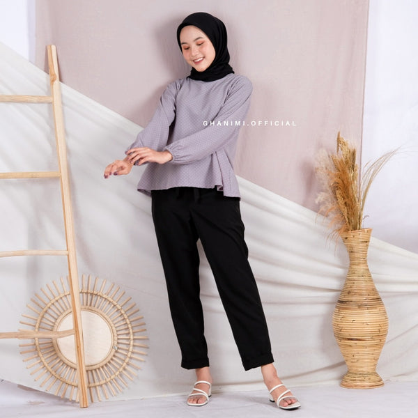 Aleta Blouse Grey