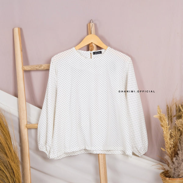 Aleta Blouse White