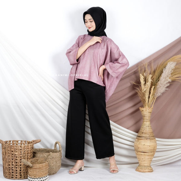AISHA BLOUSE FLAMINGGO