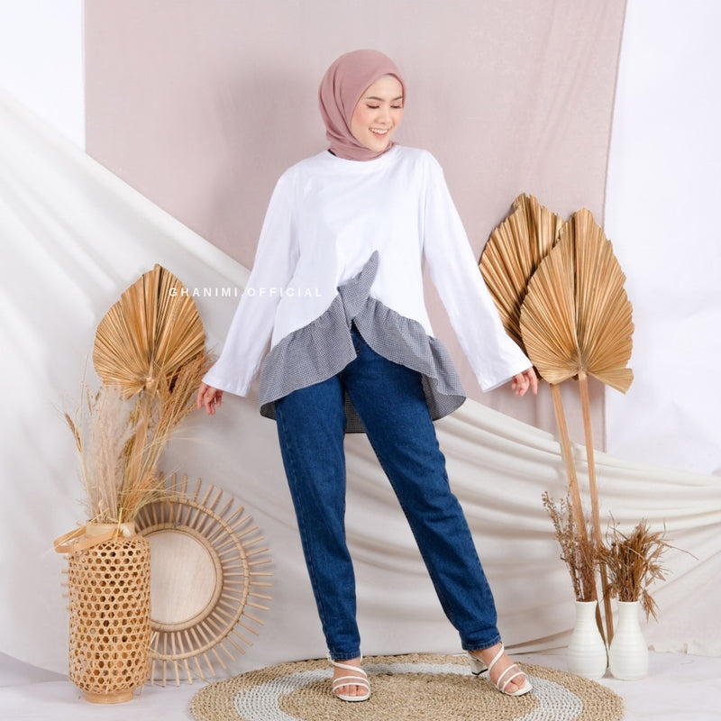 Joya Blouse White
