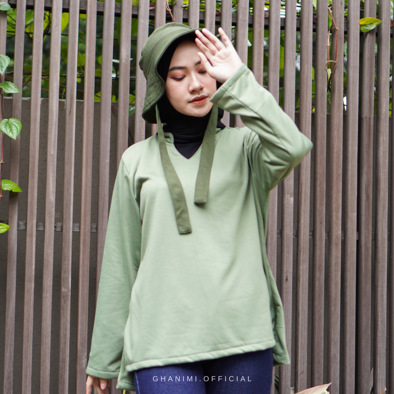 Yessa Blouse Ace Green