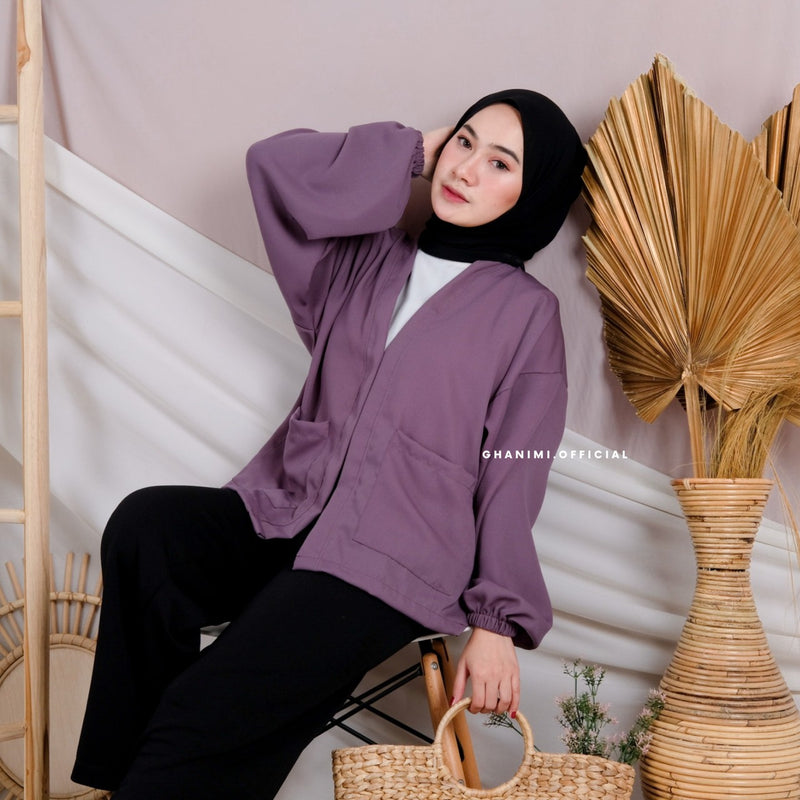 Nami Outer Dark Grey
