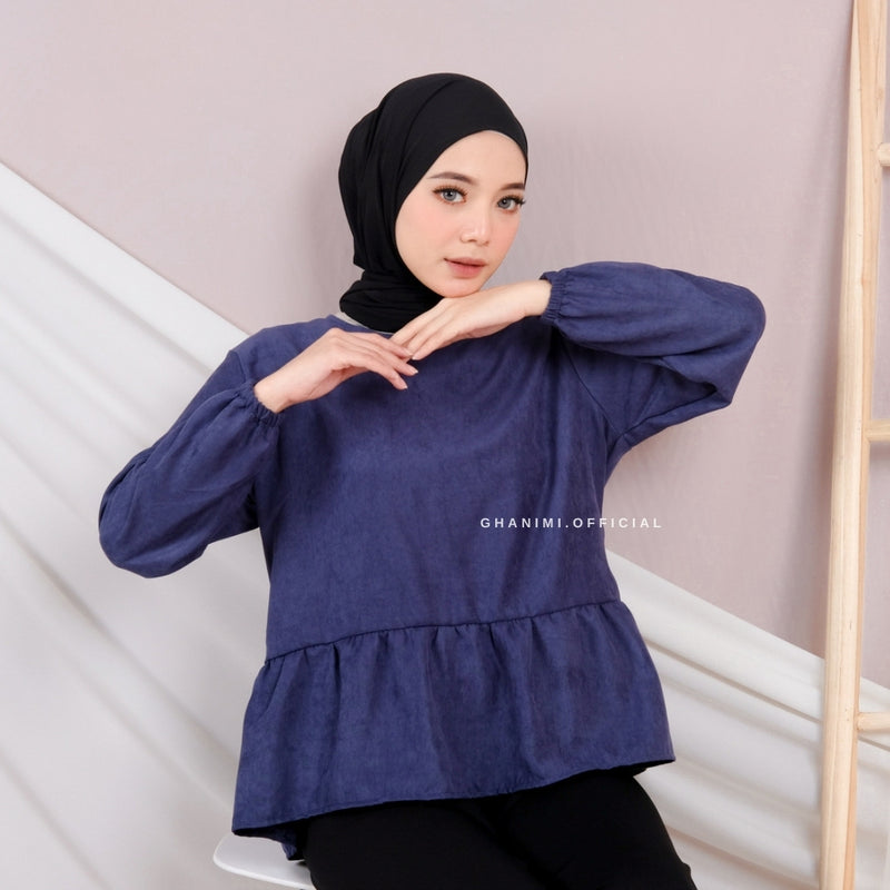 Rumi Blouse Denim