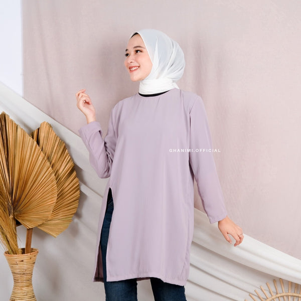 Elora Tunik Smoke Grey
