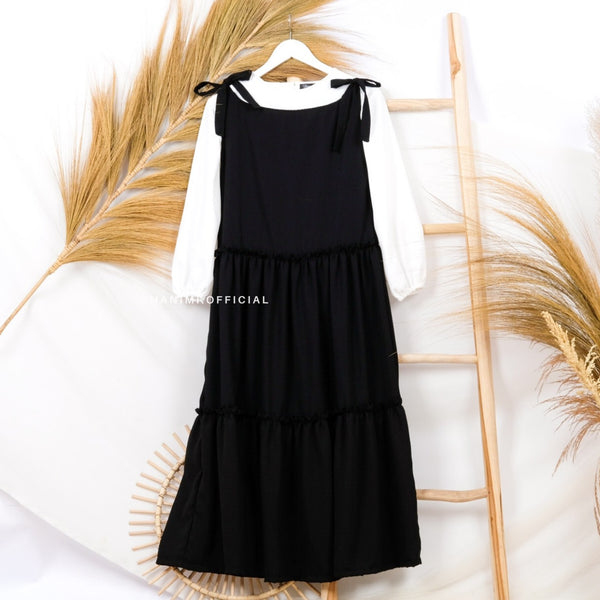Liora Basic Dress Black