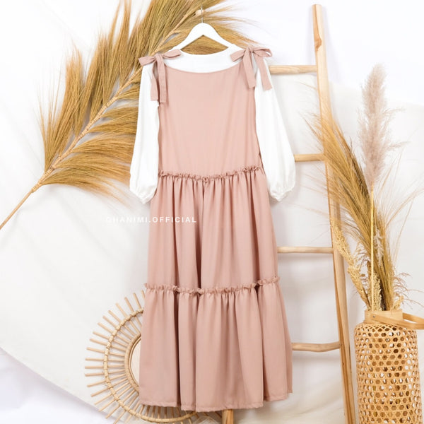 Liora Basic Dress Latte