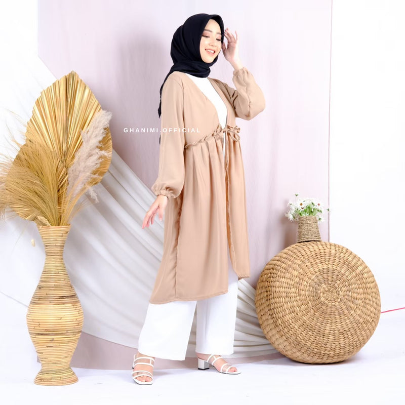 Nessy Long Outer Latte