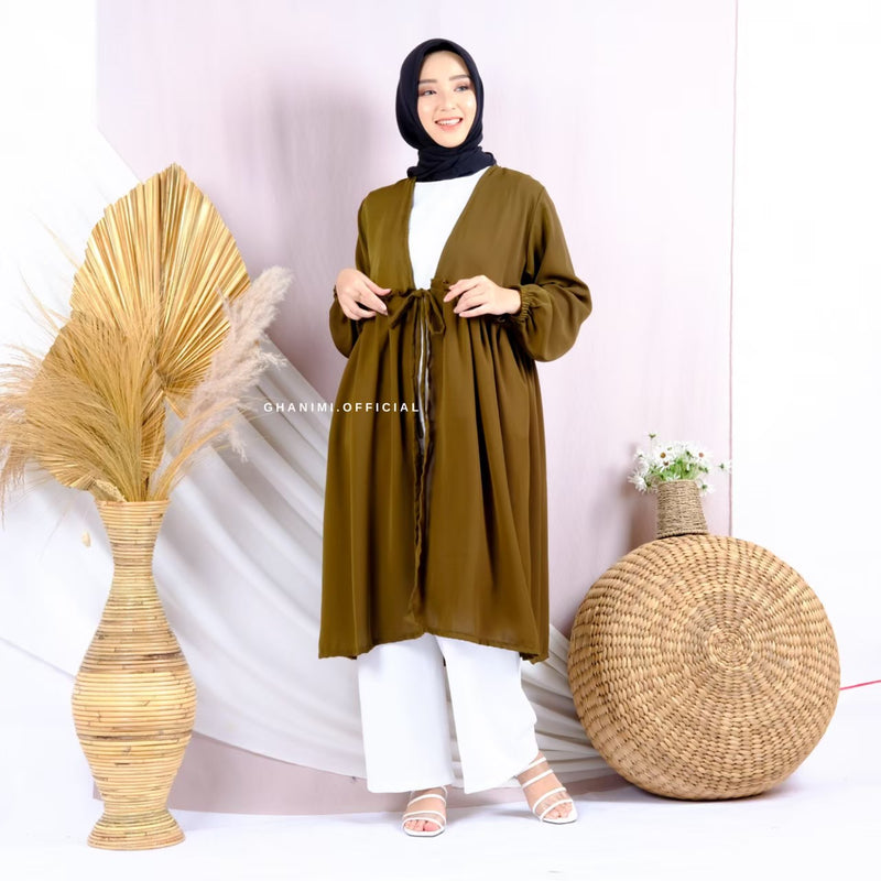 Nessy Long Outer Olive