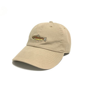 MOUNTAIN STREAM FISH CAP BROWN TROUT