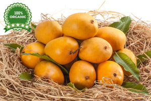 2 dozen Organic Alphonso mangoes ( Gold Band )