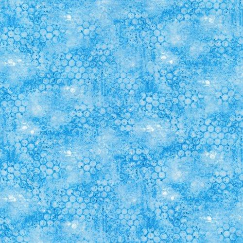 Follow the Light; Textured Turquoise - Fat Quarter