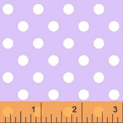 Windham Basics Pastels: Purple Big Dot