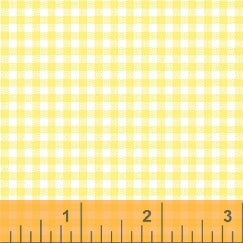 Windham Basics Pastels: Yellow Gingham