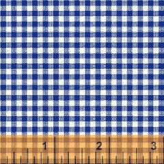 Gingham Basic Brights - Blue