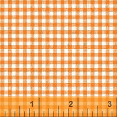 Gingham Basic Brights - Orange