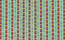 Flying Colors: Rainbow Stripes Aqua  33065-13