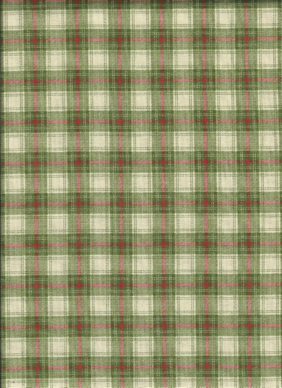 Very Merry Light green plaid