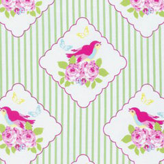 Zoey's Garden - Framed Birdies - Green