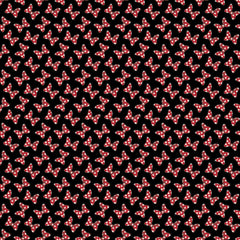 Minnie Mouse Dreaming In Dots - Minnie Dot Couture on Black
