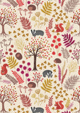 Under The Oak Tree - Cream - Fat Quarter Bundle (5)