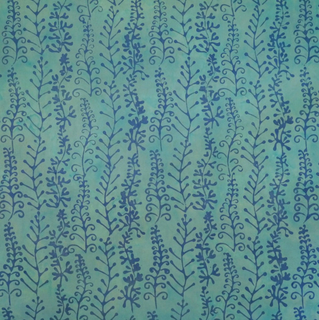 Batik - Arctic Bloom - Bare Blue