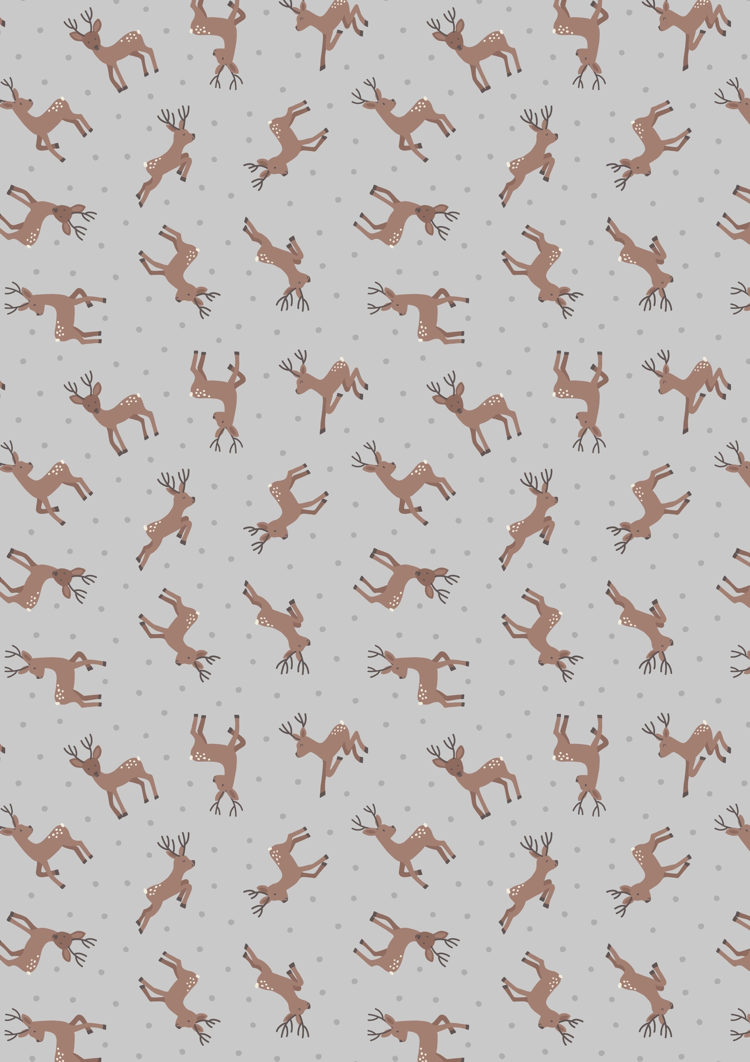Deer (Reindeer)- Grey