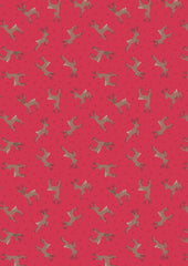 Deer (Reindeer)- Red