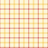 Alphabet Story - Plaid - Yellow and Orange