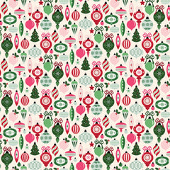 Merry and Bright Ornaments Cream