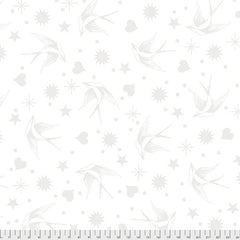 Fairy Flakes - Paper (White on White)