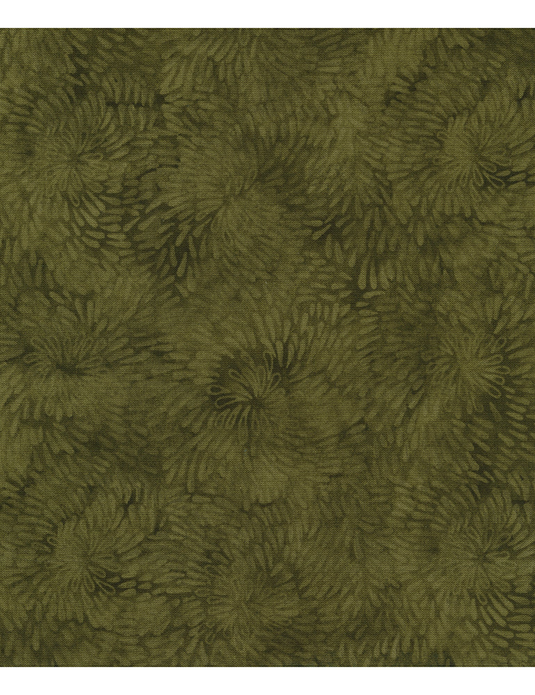 Tapestry: Raindrop Spiral - Olive