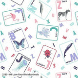 Love Your World - Fat Quarter Bundle (5)