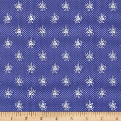 Music Collection; Primrose in Periwinkle - Fat Quarter