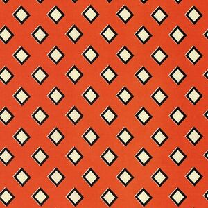 Fat Quarter - Stonington: Diamond Diagonal in Lobster