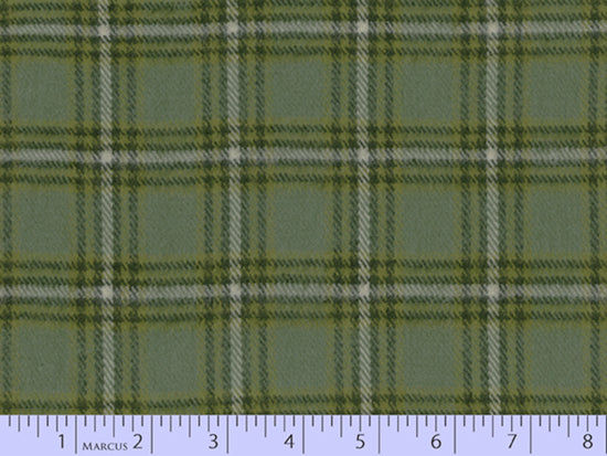 2 Sided Woven Flannel - Lumber Jack Plaid - Kirkton Green