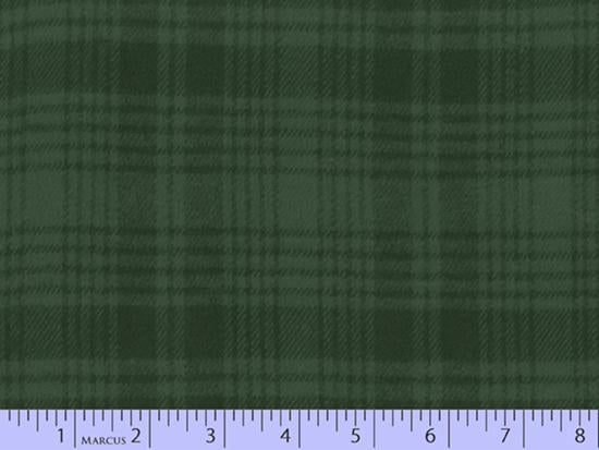 2 Sided Woven Flannel - Lumber Jack Plaid - Campbell Green