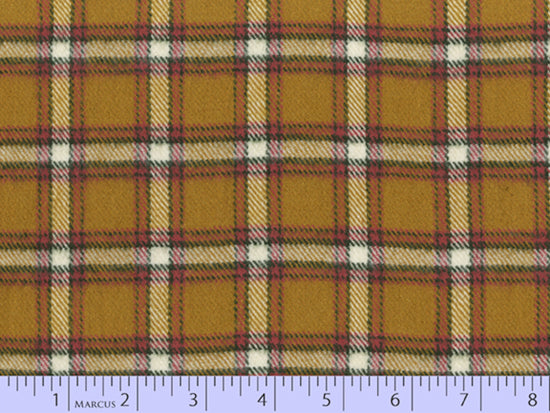2 Sided Woven Flannel - Lumber Jack Plaid - Kilgour Gold