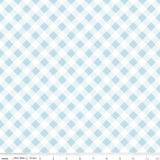 Sew Cherry 2: Gingham Aqua