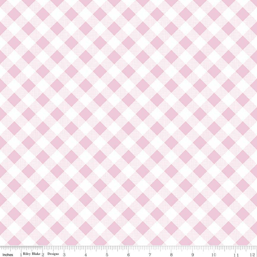 Sew Cherry 2: Gingham Pink