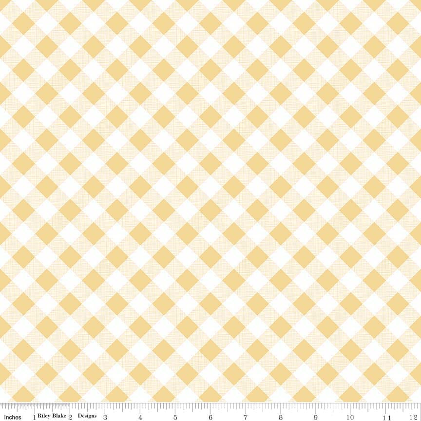 Sew Cherry 2: Gingham Yellow