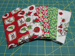 Christmas Season - Fat Quarter Bundle (5)