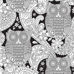Colour Me Adult - Black - What A Hoot!