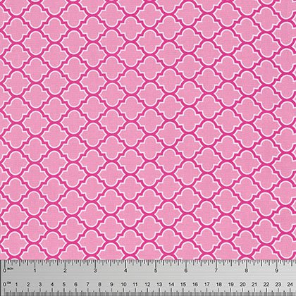 Lodge Lattice Fuchsia   True Colours
