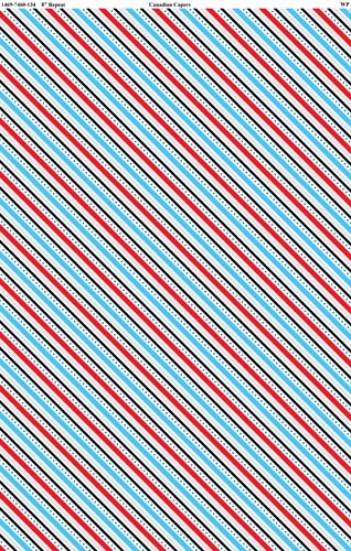 Canadianisms - Stripe - Aqua