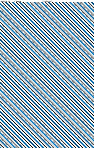 Canadianisms - Stripe - Blue