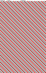 Canadianisms - Stripe - Red