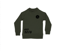 Load image into Gallery viewer, A EST. 2018 Kids Crew Neck Jumper